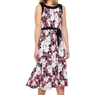 Perceptions Floral Fit & Flare Dress Ashburn, 20148