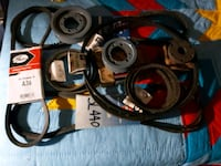 Assorted pulleys and belts (Brand New) Toronto, M6L 1K6