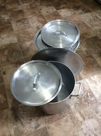 two stainless steel cooking pots Nashville, 37211