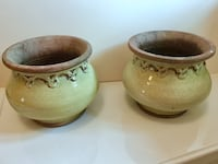 Smith and Hawken ceramic pots Chicago