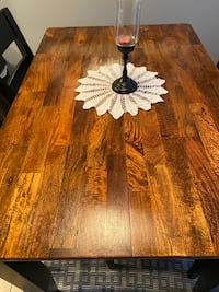 Dining table counter high