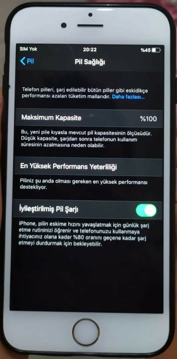 İPhone 6s 32 GB temizz 9