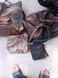 two black and brown leather bags Chula Vista, 91911
