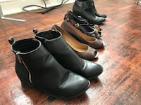 4 pairs size 8-8.5 women's shoes