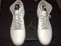 pair of white Nike high-top sneakers Los Angeles, 90045