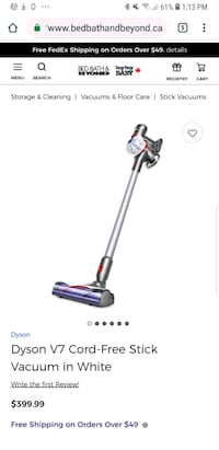 Brand new in box dyson v7 cord free  Coquitlam, V3K 1T5