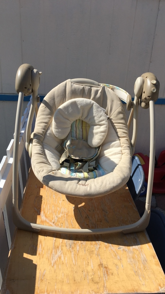 brown portable swing for sale  Westminster