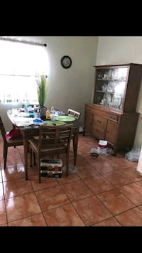 Table and china cabinet Montebello, 90640