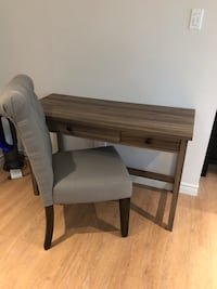 Almost new.....( 4 months old), writing /computer desk with chair. I have moved and don't have the room. Waterloo
