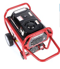 LIKE NEW TROY-BILT 6000 WATT (8250 STARTING WATT) GAS GENERATOR
