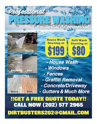 Power washing Washington