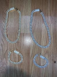 Cuban link iced out chain Atlanta, 30311