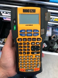 Rhino 5200 label maker brand new basically Princeton, 75407