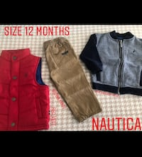 6 items total ; size 12 MONTHS Merrick, 11566