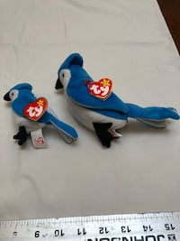 Blue and white ty beanie baby plush toy El Paso, 79902