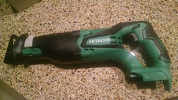 New Hitachi reciprocating saw