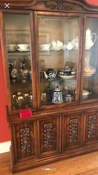 $1200 hutch down to $399 today only!! Gorgeous china hutch and Buffett made in Indonesia' has light to light up at night , perfect condition from late 1960's!! // [PHONE NUMBER HIDDEN] :/ Edmonton, T6G 1E9
