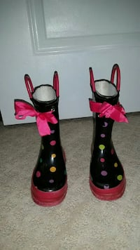 Girls Rain Boots (7/8 toddler) Vienna, 22180