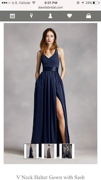 Bridesmaid/evening gown