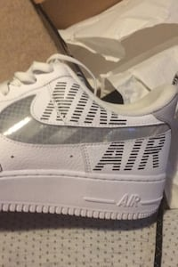 """Nike Air Force 1 """"Under construction"""" SIZE 13 Pickering, L1V 5J9"""