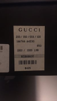 Gucci shoes size 8