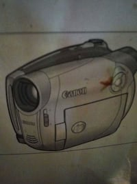 Canon camcorder with DVD discs