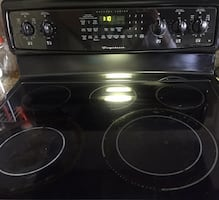 Fridgdaire electric oven stove