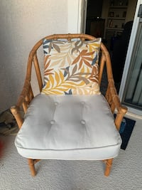 Wood and Wicker Chair North Las Vegas, 89081