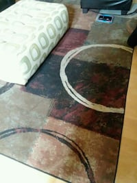 round brown and black area rug Colorado Springs, 80905