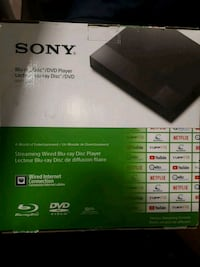 Sony Blue-ray dic DVD player