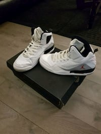 Mens Jordan flights high tops ..8.5