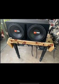JBL 12'S WITH BOX AND BOSS AMP