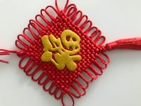 Middle Sized Lucky Chinese Knot MARKHAM