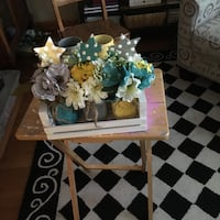 white and blue flower arrangement Fall River, 02720