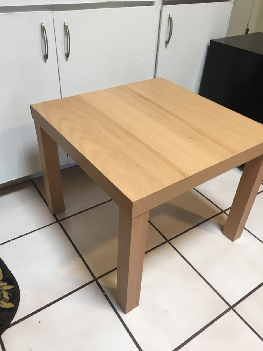 used brown wooden side table ikea in tucson