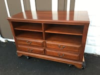 Solid Cherry Shelving w/ 4 Drawers (Delivery Option) Revere, 02151