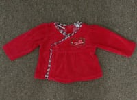 Baby top first Christmas 3/6M