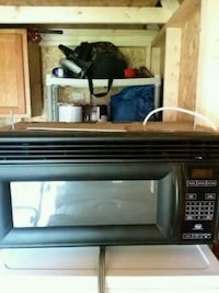 black  over stove microwave oven Winchester, 22601