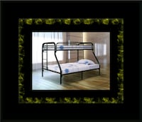 Full twin bunkbed frame Ashburn
