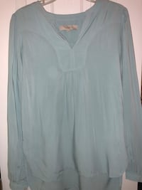 Loft light blue blouse Arlington, 22201