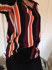 Size small collared shirt - FALL COLORS Mississauga, L5M 0V5