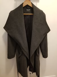 Wool and Cashmere Wrap Coat null