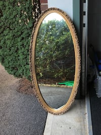 Antique oval mirror Clifton, 07011