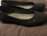 Bare Trap Black Flat Shoes Bristow, 20136