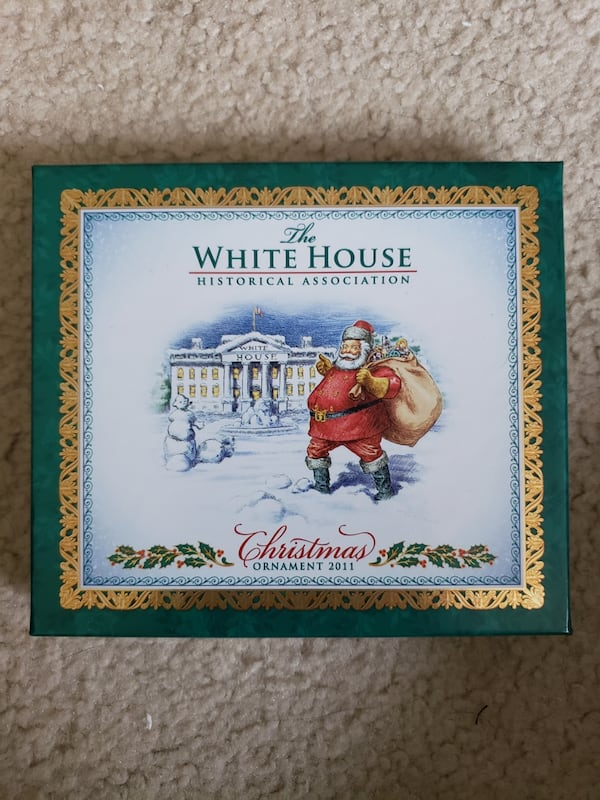 2011 Collectible White House Christmas Ornament 204a77d3-4d17-45f1-9f11-4b8416339baf
