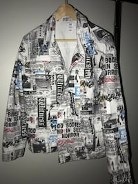 DOPE Newspaper Trucker Jacket Brand New with Tags Maumelle, 72113