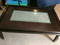 rectangular brown wooden coffee table Port St. Lucie, 34986