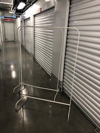 2 clothing racks $8 dollars a each or both for $15 46 km