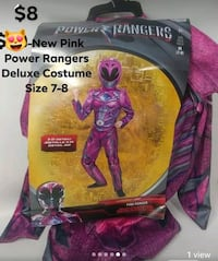 New Power Rangers Costume Size 7-8 Frederick, 21701