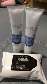Avon lotion and makeup wipes London, N6E